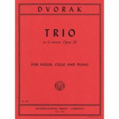 Trio in G Minor, Op.26 for Violin, Cello and Piano