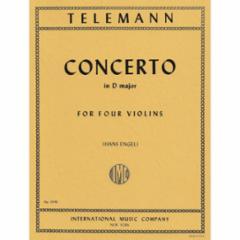 Concerto in D Major for Four Violins