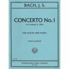 Concerto No. 1 in A Minor, S.1041 for Violin and Piano