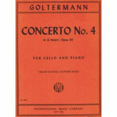 Concerto No.4 in G Major, Op.65 (Cello)