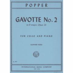 Gavotte No.2 in D Major, Op.23 (Cello)
