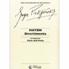 Divertimento for Viola and Piano