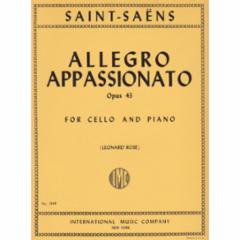 Allegro Appassionato, Op.43 (Cello)