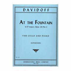 At the Fountain, Op. 20, No.2 (Cello)