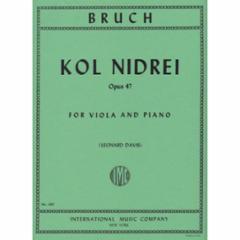 Kol Niderei, Op. 47 for Viola and Piano