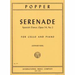 Serenade, Op. 54, No. 2 for Cello and Piano