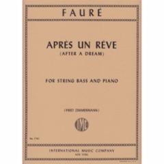 Apres un Reve (After a Dream) for String Bass