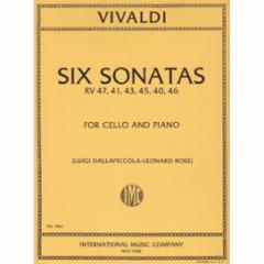 Six Sonatas, F. XIV, n. 1-6 (Cello and Piano)