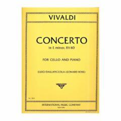 Concerto in E Minor, F.XIV, n.5 (Cello)