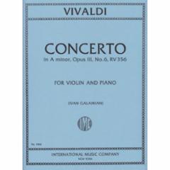 Concerto in A Minor, F.I, No.176 (Violin)