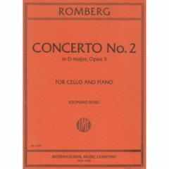 Concerto No.2 in D Major, Op.3 (Cello)