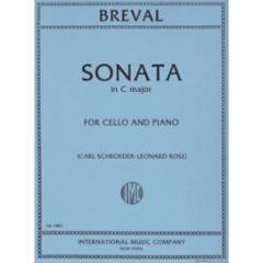 Sonata in C Major for Cello and Piano