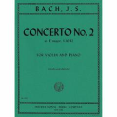 Concerto No. 2 in E Major for Violin and Piano