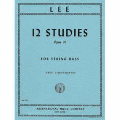 12 Studies, Op. 31 for String Bass