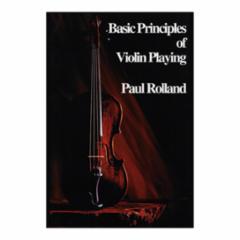 Basic Principles of Violin Playing