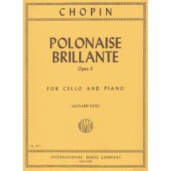Polonaise Brillante, Op.3 for Cello and Piano