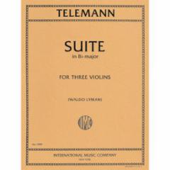 Suite in Bb Major for 3 Violins