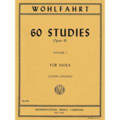 60 Studies for Viola, Op.45