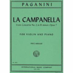 La Campanella (The Bell), Op.7  No.2 (Violin)