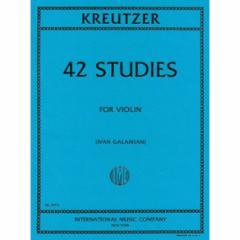 42 Studies for Violin