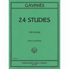 24 Studies for Violin