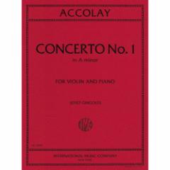 Concerto No. 1 in A Minor for the Violin and Piano