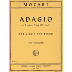 Adagio in E Major, K. 261 for Violin and Piano