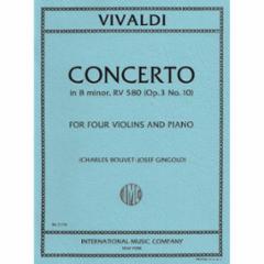 Concerto in B Minor, F.IV, No.10 (Four Violins)