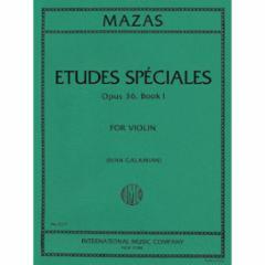 Etudes Speciales, Op. 36 for Violin