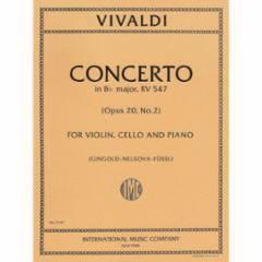 Concerto in Bb Major, F. IV, n.2 for Violin, Cello and Piano
