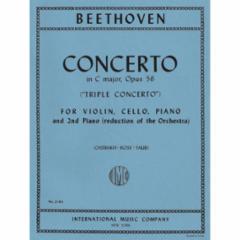 Triple Concerto in C Major Op. 56 (Triple Concerto) for Violin, Cello and Piano