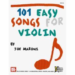 101 Easy Songs for Violin