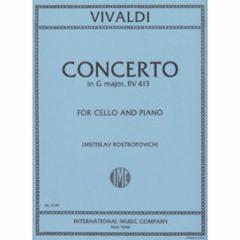 Concerto in G Major, F. III, n. 12 (Cello)