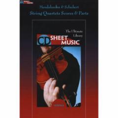 Mendelssohn & Schubert String Quartets: Scores and Parts (CD-ROM)