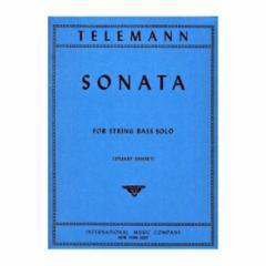 Sonata for String Bass Solo