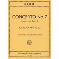 Concerto No.7 in A Minor, Op.9 for Violin