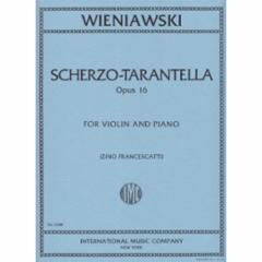 Scherzo-Tarantella, Op.16 for Violin and Piano