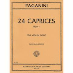 24  Caprices, Op. 1