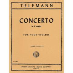 Concerto in C Major for 4 Violins