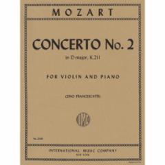 Concerto No. 2 in D Major, K. 211 for Violin