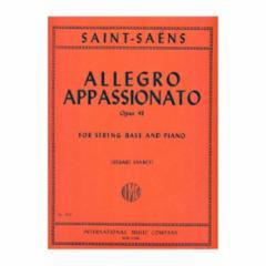 Allegro Appassionato, Op.43 for String Bass and Piano