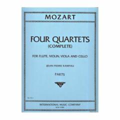 Four Quartets for Flute, Violin, Viola and Cello