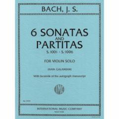 Six Sonatas and Partitas for Violin