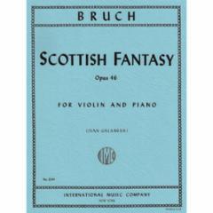 Scottish Fantasy, Op. 46 for Violin and Piano