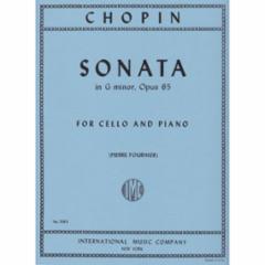 Sonata in G Minor, Op. 65 for Cello and Piano
