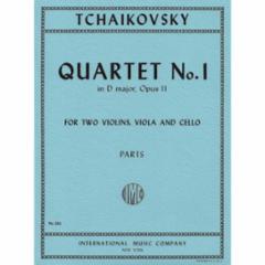 Quartet No. 1 in D Major, Op. 11 for String Quartet