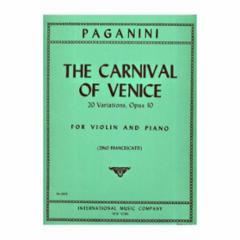 Carnival of Venice, 20 Variations, Op.10 for Violin
