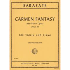 Carmen Fantasy, Op. 25 for Violin and Piano