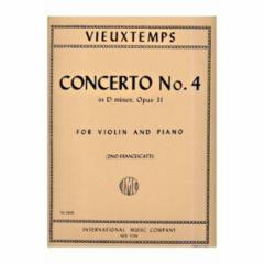 Concerto No.4 in D Minor, Op.31 (Violin)