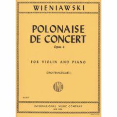 Polonaise de Concert in D Major, Op.4 (Violin)